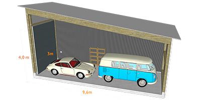wie viel kostet die miete f r eine garage magazin32. Black Bedroom Furniture Sets. Home Design Ideas